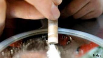 Symbolbild, Kokainkonsum