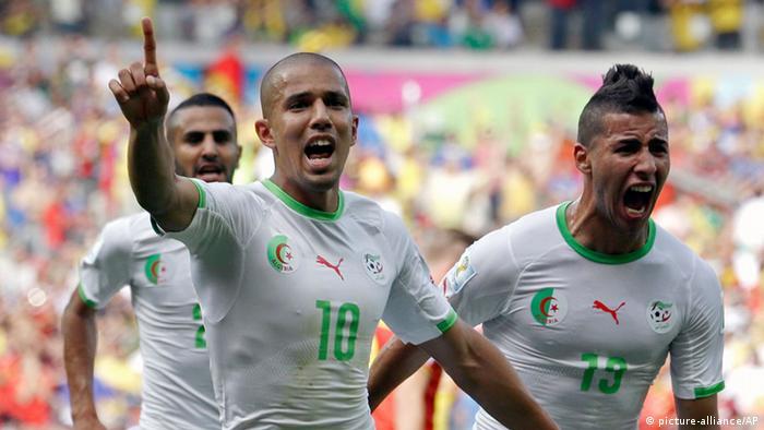 FIFA Fußball WM 2014 Algerien Belgien (picture-alliance/AP)