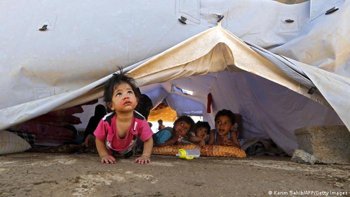 Irakische Fllüchtlinge in Erbil, Nordirak