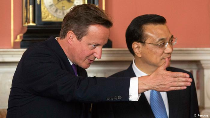 Li Keqiang in London 17.6.2014