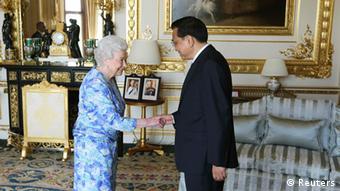 Li Keqiang in London 17.6.2014