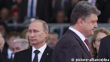 Wladimir Putin und Petro Poroschenko
