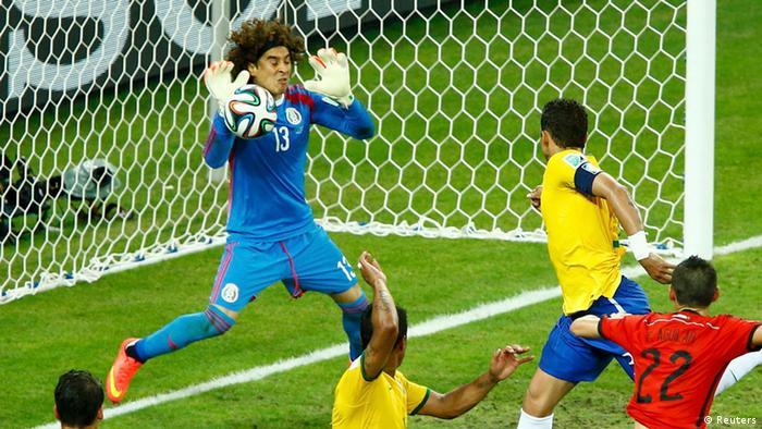 FIFA Fußball WM 2014 Brasilien Mexiko Neymar Ochoa
