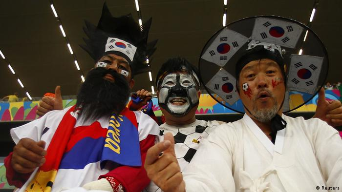 FIFA Fußball WM 2014 Südkorea Russland Fans (Reuters)