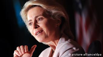 Bundesverteidigungsministerin Ursula von der Leyen (Foto: dpa)