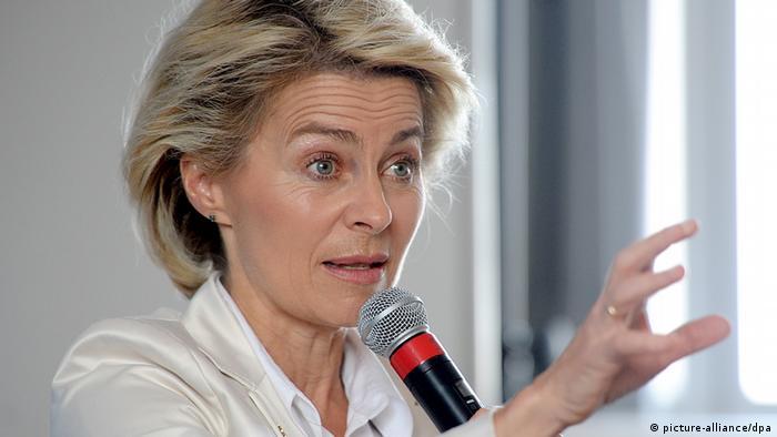 USA Deutschland Bundesverteidigungsministerin Ursula von der Leyen in New York