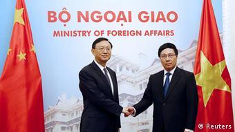 Vietnam China Treffen zwischen Yang Jiechi und Pham Binh Minh in Hanoi
