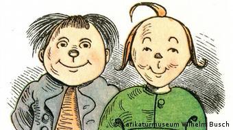 Os moleques Max e Moritz