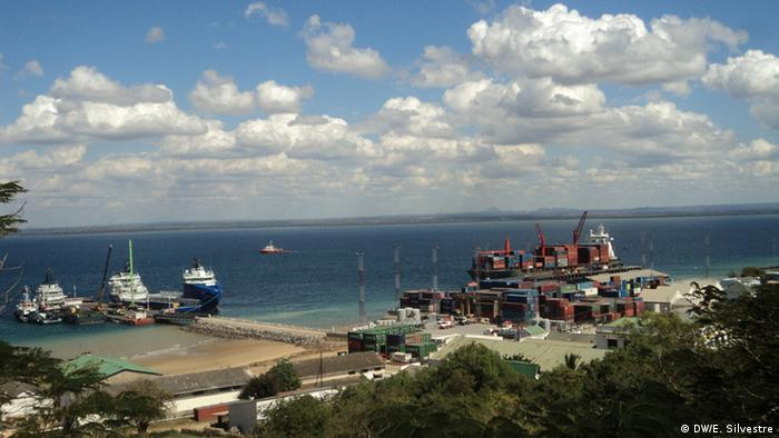Hafen in Pemba Mosambik