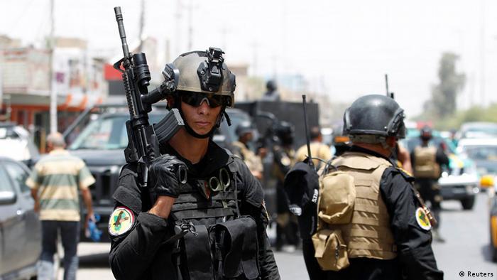 Irakische Spezialeinheiten in der Hauptstadt Bagdad (Foto: rtr)