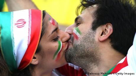 FIFA WM 2014 Iran Fans