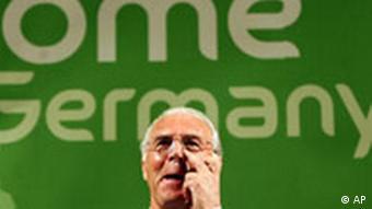 Franz Beckenbauer in Kroatien FIFA WM 2006