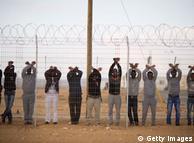 Африканські біженці в таборі Холот, Ізраїль
