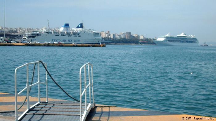 Hafen von Piräus, Griechenland