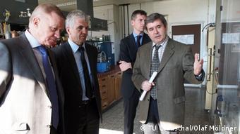 Представители Тюменского государственного нефтегазового университета в Клаустале