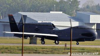 USA Drohne der US-Luftwaffe Global Hawk