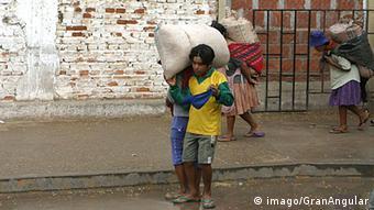 Symbolbild Kinderarbeit in Bolivien