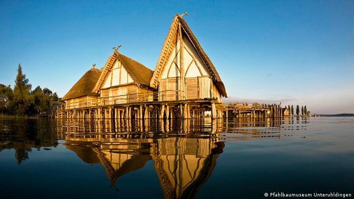 Freilichtmuseum Pfahlbaum in Unteruhldingen am Bodensee