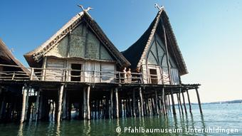 Tο υπαίθριο μουσείο Πφάλμπαουτεν στη Λίμνη της Κωνσταντίας (Bodensee) στη νότια Γερμανία