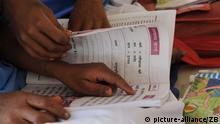 Mädchenschule in Indien