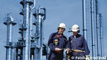 Industriearbeiter Öl- und Gasindustrie