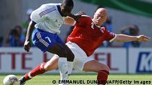 Fußball WM 2002 Frankreich Dänemark