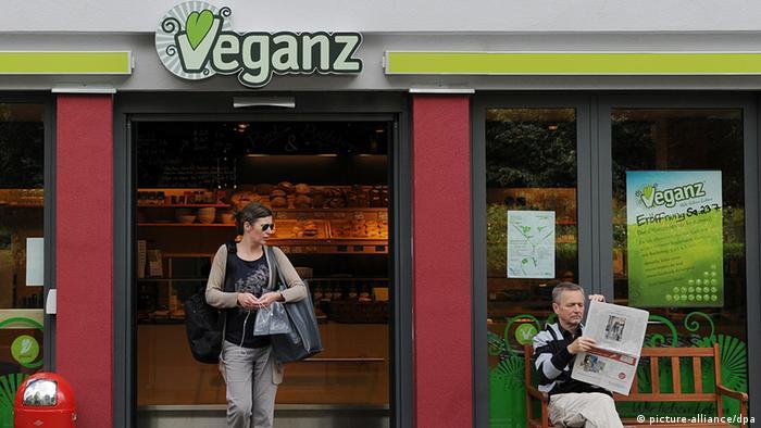 Veganz supermarket in Berlin