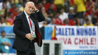 ویسنته دل بوسکه، سرمربی تیم ملی فوتبال اسپانیا