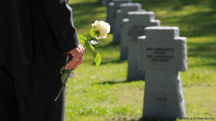Немецкое воинское кладбище в Россошке под Волгоградом