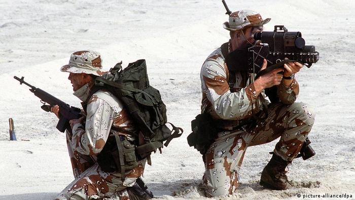 US Special Forces training Photo: Ph2 Jeffrey Loshaw/US Navy dpa