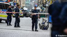 Stockholm Altstadt Polizei Bombendrohung 19.06.2014 (Reuters)