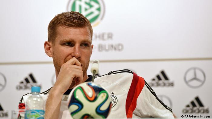 DFB Pressekonferenz Mertesacker 19.06.2014 (AFP/Getty Images)