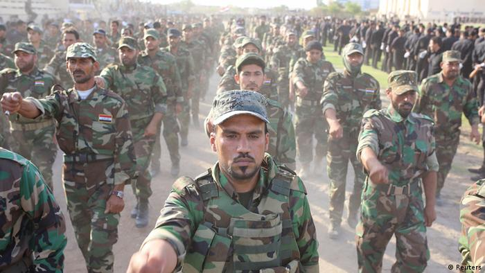 Kämpfe im Irak Mehdi Kämpfer 19.06.2014