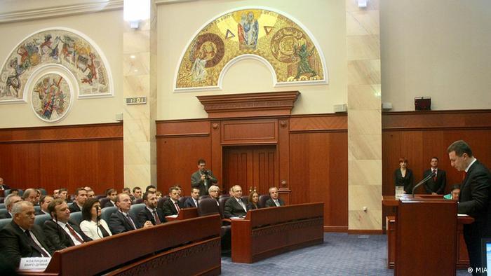 Nikola Gruevski Premierminister Mazedoniens 19.06.2014