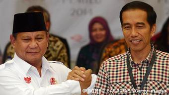 Prabowo Subianto, Joko Widodo