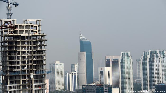 Jakarta Skyline Bau Archiv 2013