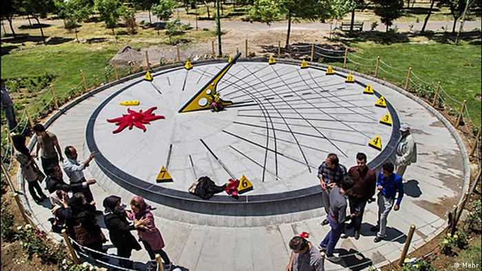Sundial in Iran, Copyright: MEHR