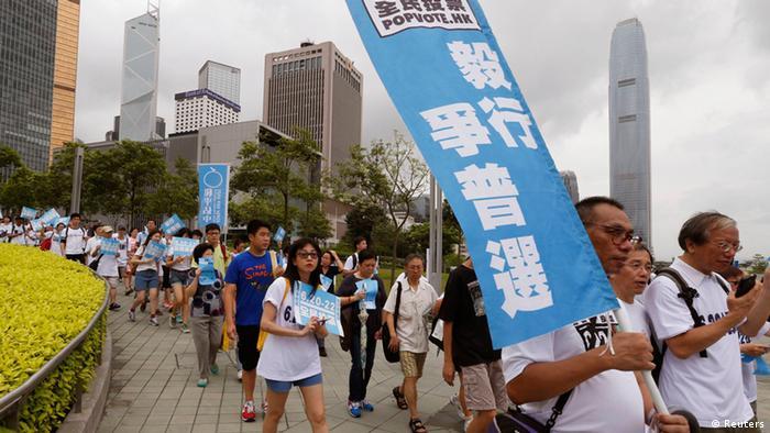 Hongkong Onlinereferendum 20.06.2014