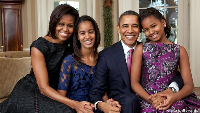 Familie Obama (picture-alliance/dpa)