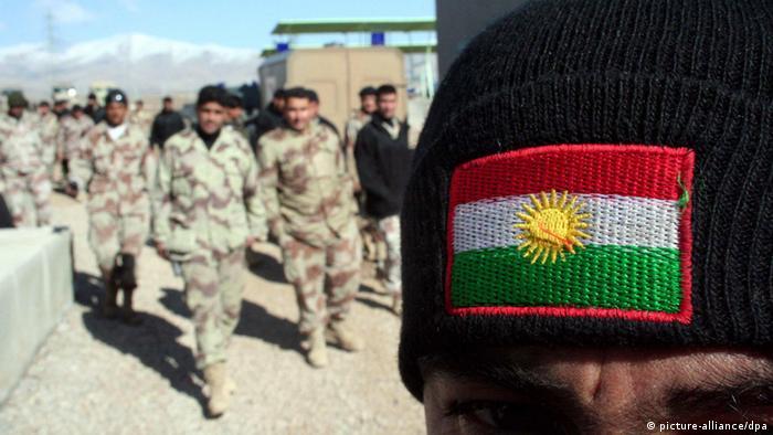 Kurdische Soldaten im Irak (Foto: dpa)
