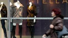 Stella McCartney für H&M Laden in Frankfurt