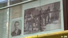 Princip-Gedenktafel - 100 Jahre Attentat von Sarajewo