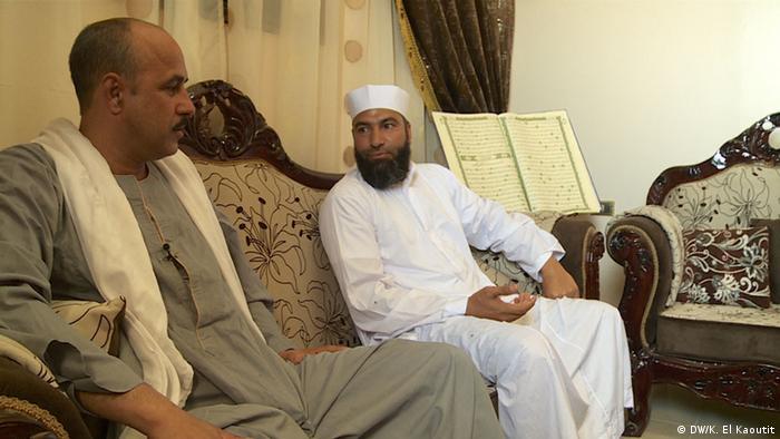 Die Flüchtigen Männer Atef Ahmad Hassan und Mabrouk Farag (Foto: DW)