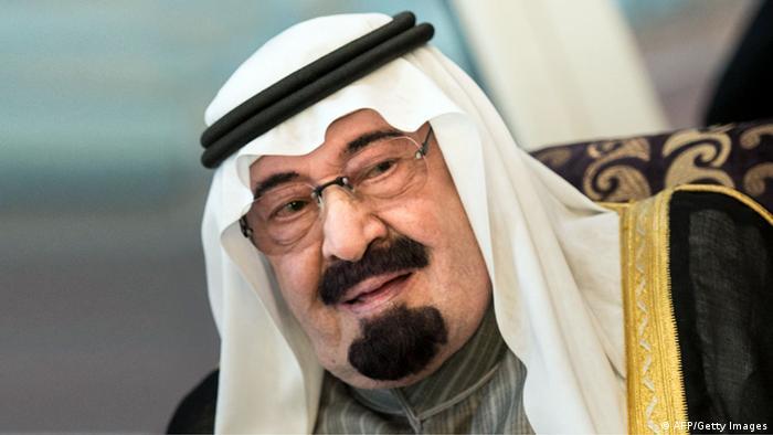 Saudi Arabien König Abdullah Ibn Abdel Aziz 2014