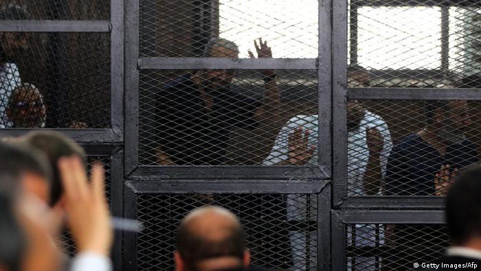 Verhandlung Todesstrafe Gericht Ägypten 19.06.2014