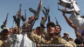 Shiite fighters in Iraq (Photo: AHMAD AL-RUBAYE/AFP/Getty Images)