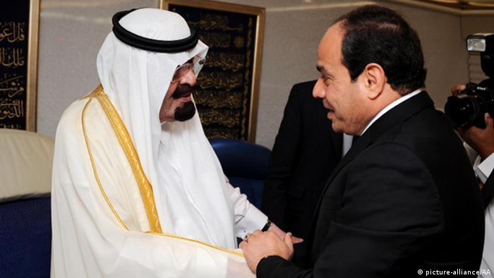 König Abdullah bin Abdulaziz und Präsident Al-Sisi Ägypten 20.06.2014