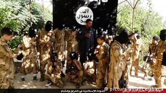 نیروهای داعش در حال پیشروی به سمت بغداد هستند