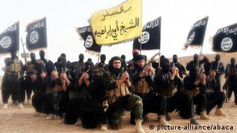 Wapiganaji wa kundi la ISIL.