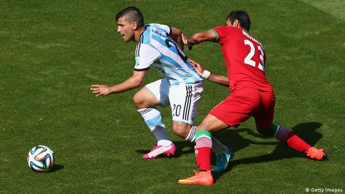 WM 2014 Gruppe F 2. Spieltag Argentinien Iran (Getty Images)